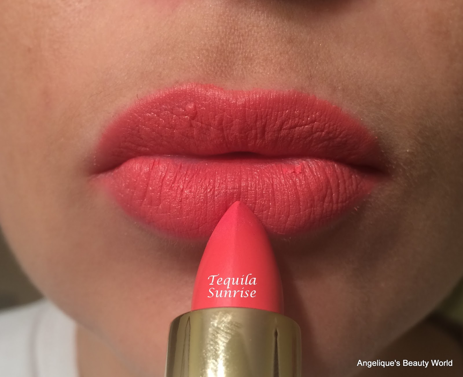 Gerard Cosmetics A Review Angeliques Beauty World City Color Creamy Lips Fifth Is Tequila Sunrise And One Of The Few Orangey Lip Colors I Own Im Always Afraid That These Type Will Make My Teeth Look Yellow